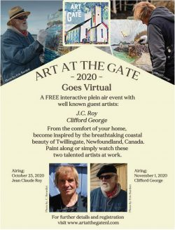 ArtAtTheGateGoesVirtual-2020 poster V2 with border reversed pics - email version (1) (1)